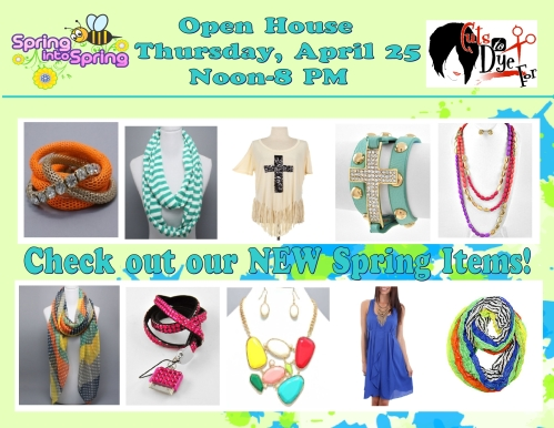 open house ad spring 2013